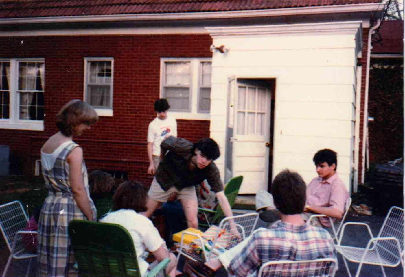 Bev's Birthday party, Chattanooga, Tennessee, 1985
