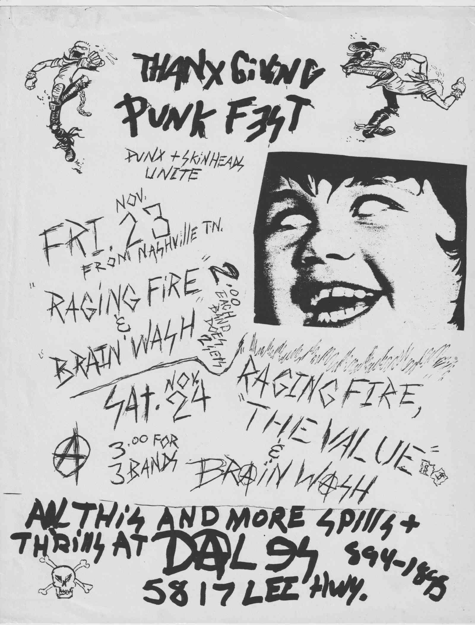 Thanksgiving Punk Fest